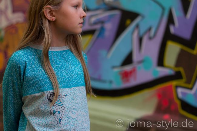 Skatergirls von Lillestoff - JOMA-style