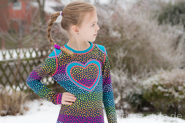 Regenbogen-Herzen
