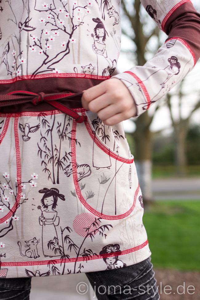 Designbeispiel für Lillestoff | japanischer Garten Susalabim | Sunje von Kibadoo | JOMA-style