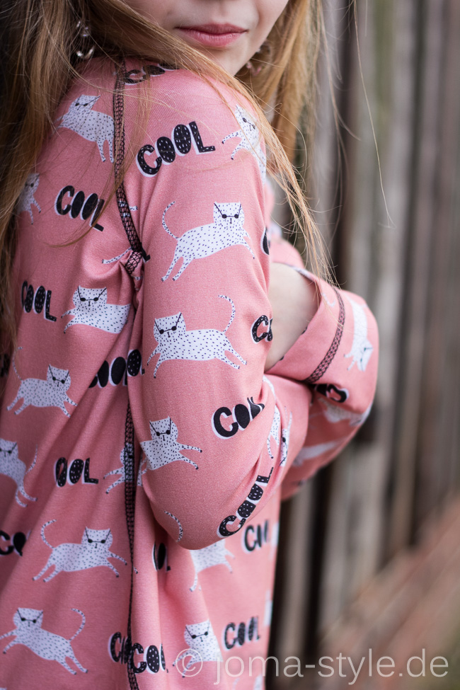 Herthas Nichte | Echt Knorke | Cool Cat | Lillestoff | Kluntjebunt | Shirt | DIY | JOMA-style
