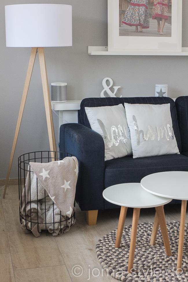 Sukhi | Filzkugelteppich | Living | White Living | Interior | JOMA-style