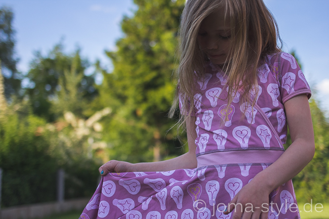 E27 von Stoff und Liebe | DIY | Fashion | Wickelkleid | Ki-Ba-Doo | JOMA-style