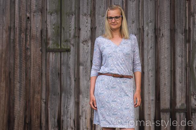 Frau Vilma | Fritzi Schnittreif | Kleid | DIY | Lillestoff | JOMA-style