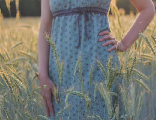 Imke - Mamu-Design - Frau Tulpe - DIY - Kleid - Eigenproduktion - Nähen - Designbeispiel - JOMA-style - Miki Star - Mineral