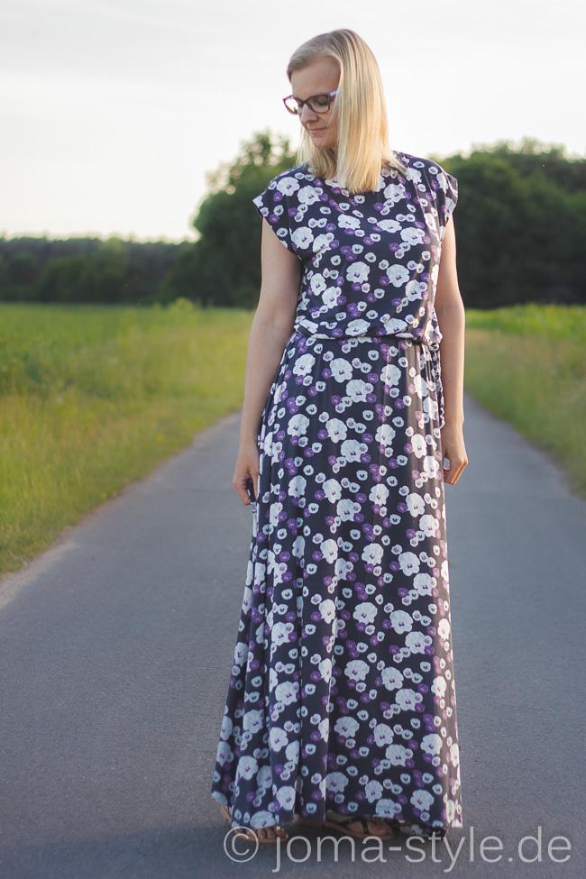 Ilmava von Lillestoff - Maxikleid-Liebe - das neue Lillestoff Woman Schnittmuster (DIY) - Designbeispiel von JOMA-style