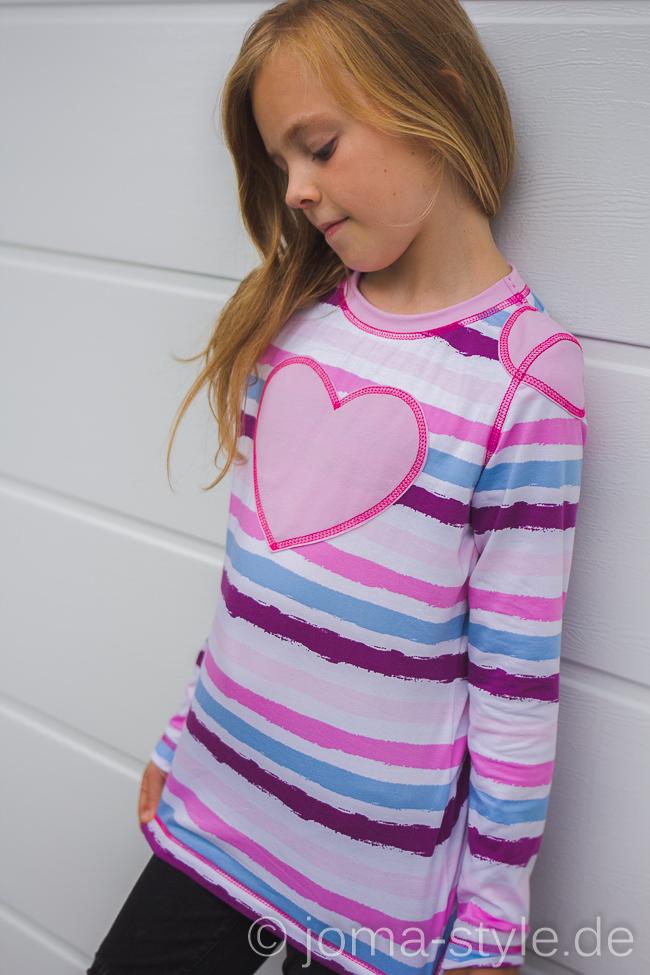 Summerjersey Stripes von Lillestoff --> JOMA-style.de