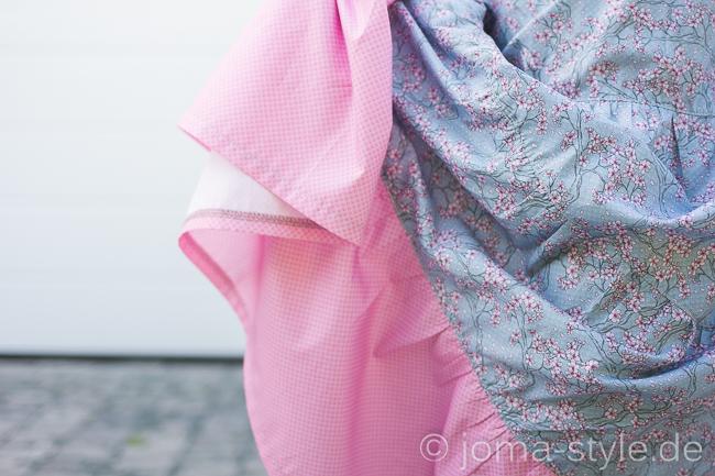 Stufenrock nach meinem Tutorial aus With Love from Tokyo von Stoff & Liebe --> JOMA-style.de