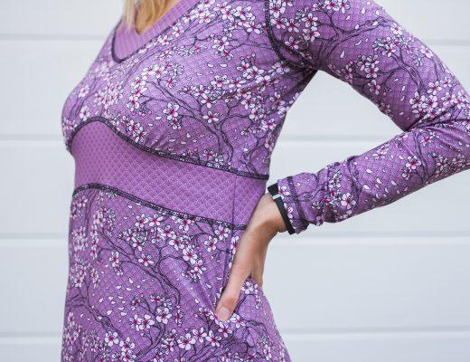 """""""With Love from Tokyo von Stoff & Liebe zu einem Ottobre-Kleid vernäht --> genäht von JOMA-style.de"""