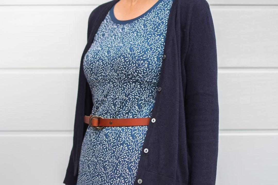 Sensitive blau von Lillestoff - Kleid: Rosa P. --> JOMA-style.de