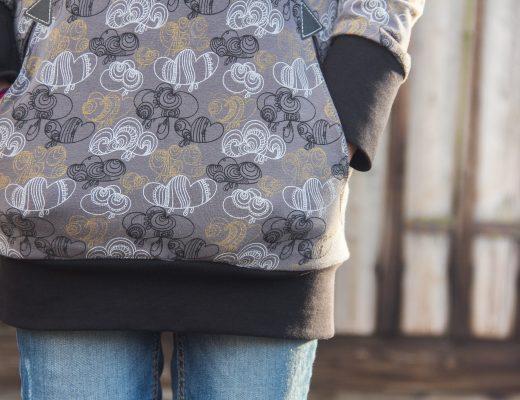 Hoodie Lou von Ki-Ba-Doo aus Clouds von Enemenemeins für Lillestoff --> JOMA-style.de