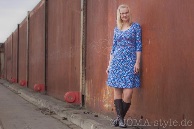 Kleid Dira aus Reverie von Stoff und Liebe --> JOMA-style.de