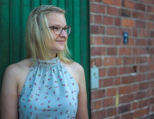 Isabelle von Himmelblau aus Tulpen von Lillemo für Lillestoff --> JOMA-style.de